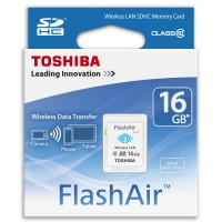 Toshiba Flash Air Wireless SD Card Class 10 16GB WIFI Memory CAMERA