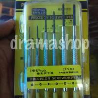 Obeng Jam Set 6pcs Good Quality Precision Screwdriver TNI-U