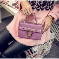 TAS KOREA HANGOUT UNGU HAND BAG FASHION SLEMPANG BAHU SHOULDER MALL