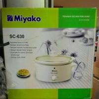 Jual MIYAKO SLOW COOKER SC-630 PENANAK SECARA PERLAHAN 6,3L Murah