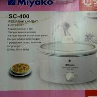 Jual MIYAKO SLOW COOKER SC-400 PENANAK SECARA PERLAHAN 4L Murah