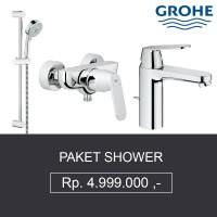 PAKET SHOWER GROHE (Shower, Bath Mixer, Kran Air) BERKUALITAS