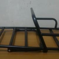 harga Backrack Grabrail Vespa Ps,px,exclusive,excel(coatinghitam) Tokopedia.com