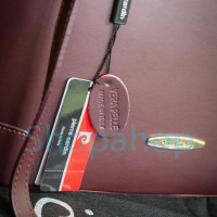 Pierre Cardin Maroon Leather Handbag