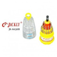 JACKLY 31 IN 1 PRECISION SCREWDRIVER PROFESSIONAL REPAIR TOOL KIT