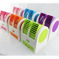 AC MINI DUDUK FAN DOUBLE BLOWER / PENDINGIN PORTABLE