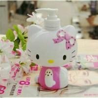 Tempat Sabun Cair Doraemon Hello Kitty Dispenser Shampoo Sabun Cair