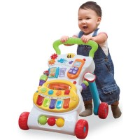 WinFun Grow With Me Musical Walker New