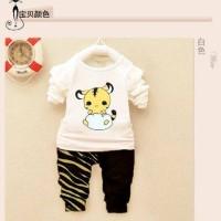 Kid Piyama Baby Dino ,  Baju Tidur Setelan Anak Laki Laki Perempuan