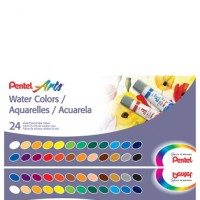 Pentel Water Colour 24 Warna / Cat Air Merk Pentel 24