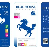 Tempered Glass BLUE HORSE