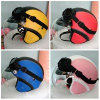 harga Helm Bogo Retro Klasik Full Kulit Jadul Kaca Bogo + kacamata Google Tokopedia.com