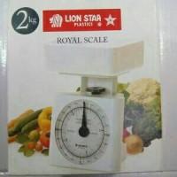 TIMBANGAN KUE (ROYAL SCALE) 2 / 3KG LION STAR