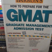 GMAT + CD BY BARRONS