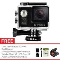Action Camera Brica B-Pro 5 Alpha Edition Paket Komplit Murah !!