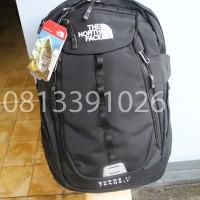Tas Ransel Backpack The North Face Surge II Transit hitam
