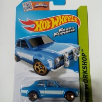 Hotwheels Fast Furious Ford Escort RS 1600