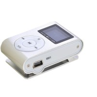 Pod MP3 Player TF Card LCD Screen-Silver