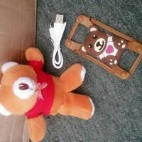 harga Paket Promo Powerbank Boneka 9000 Mah  Teddy Bear & Bumpercase Tokopedia.com