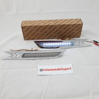 Lampu Bumper Led white Honda Crv 10-11 Chrome (IMS)