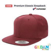 Jual 6089M Premium Classic Snapback YUPOONG FLEXIFIT ORIGINAL Murah