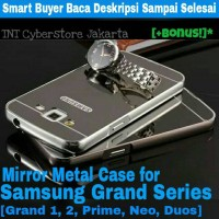Samsung Grand 1 2 Prime Neo duos Mirror Metal Case aluminium cover