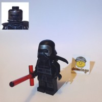 Lego Original Minifigure Kylo Ren SW663 Star Wars Force Awakens