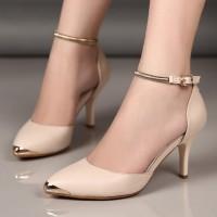 harga High Heels Carissa Gelang Cream Tokopedia.com