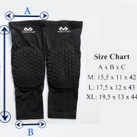 Leg Sleeve Long Mc David with Pad