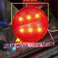 Lampu Reflektor Led Original untuk Avanza Bulat Pakai Lampu (1 Buah)