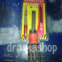 Obeng Set + Cutter + Tespen Kenmaster