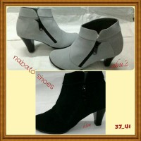 Sepatu Boot Wanita Kulit / Nabato shoes