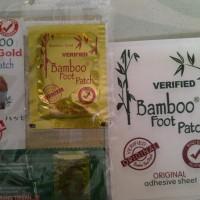 Koyo kaki penyerap racun Bamboo gold original detox foot patch