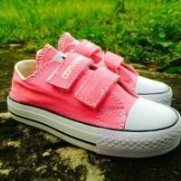 harga Sepatu Walker Anak Perempuan Converse Allstar Kets Pink Strap - New Tokopedia.com