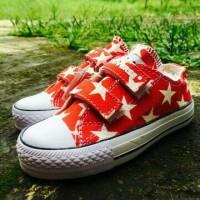 harga Sepatu Walker Anak Converse Kets Merah Motif Star - New Model Tokopedia.com