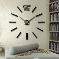 Jam Dinding Besar Menambah Artistik Ruangan / Hiasan Dinding Unik