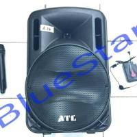 harga Speaker Portable Amplifier Wireless Meeting Atl A12 (12 Inch) Tokopedia.com