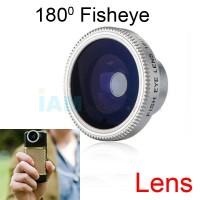 Jual Fisheye Single Lens 180 for Handphone | Lensa HP Fish Eye Universal Murah