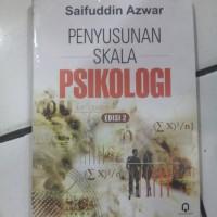harga Buku PENYUSUNAN SKALA PSIKOLOGI (Syaifudin) Pustaka Pelajar Tokopedia.com