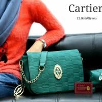 Tas Wanita Cartier slempang 2in1 el086#