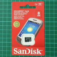 Micro SD Sandisk 8Gb/ Memori hp /  murah