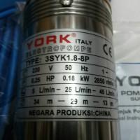 Pompa Satelit York 0.25hp.