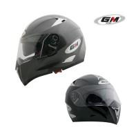 harga Helm Gm Airbone Solid Fullface Full Black Double Visor Tokopedia.com