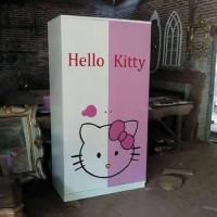 Almari Hello Kitty Pintu 2