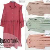 HASNA TUNIK / HASNA LONG DRESS / TUNIK HIJAB STYLE
