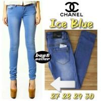 Celana Chanel Ice Blue