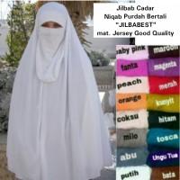 Jilbab Cadar Niqab Purdah Bertali Instan Turki Jilbabest