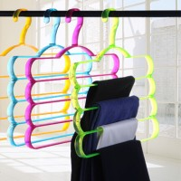Hanger 4in1 Gantungan Baju Celana Empat Layer Magic Wonder Kastok Hang