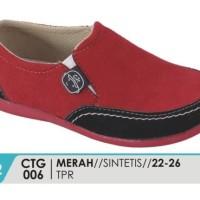 Sepatu Anak Balita Laki-Laki Merah - CTG 006 - Catenzo Junior CJR BDG