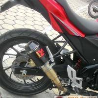Knalpot new CB 150R/CBR 150/lokal/K45 CBR 250 akrapovic GP m1 Carbon